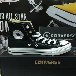 converse all star nere alte donna