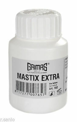 Grimas Starker Hautkleber Mastix Extra 100 ml Pinselflasche Farblos