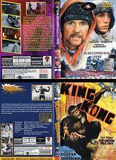 A 30 Secondi Dalla Fine (1985) e King Kong (1933) Explosion Lotto 2 DVD OOP