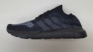 58cce7d02 Image is loading ADIDAS-ORIGINALS-SWIFT-RUNNER-PRIMEKNIT-BLACK-MULTI-COLOR-