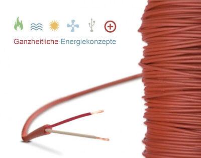 Thermometer & Hygrometer Schnelle Lieferung Silikonleitung 5m Fühler Verlängerung Silikonkabel Bis 200°c 2-leiter Silikon