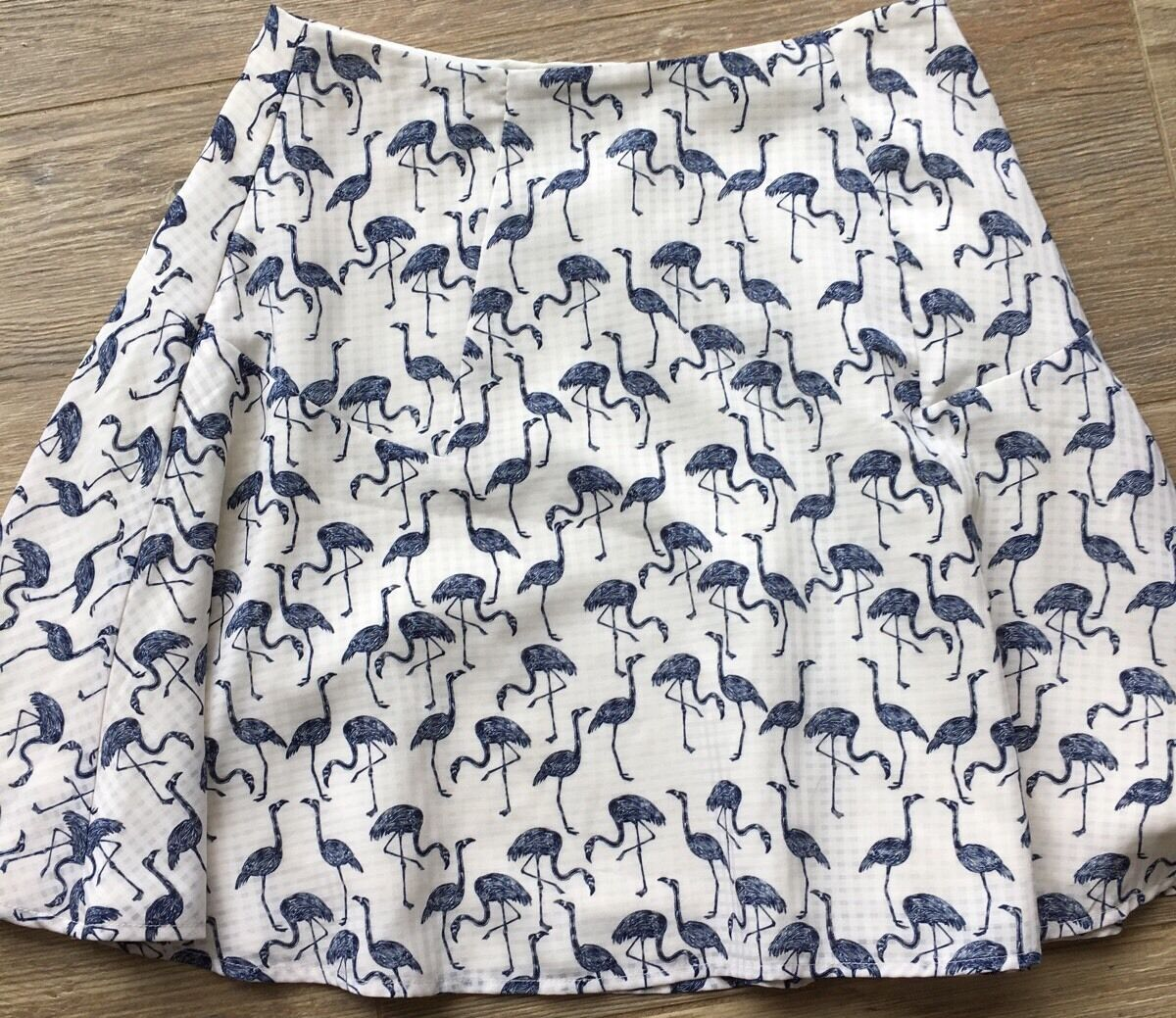 Anthropologie Corey Lynn Calter Flamingo Skirt Rare Worn Once 6