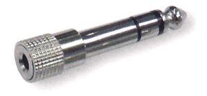 Klinken-Adapterstecker-6-3-mm-Stecker-auf-3-5-mm-Buchse-Vollmetall
