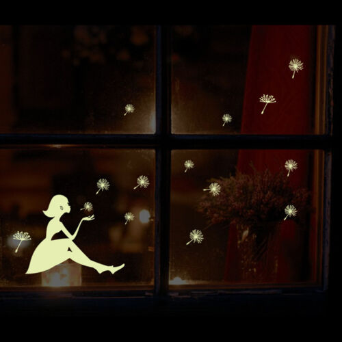 Glow in the dark wall sticker DIY kid's room decoration home decals luminous ZY