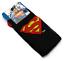BATMAN Superman Calzini Da Uomo Logo Novità Regalo misura adulto 6-11 Natale Babbo natale segreto