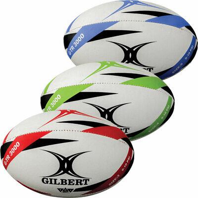 TRAINING BALLS SIZE 3 4 5 GILBERT G-TR3000 RUGBY BALL GIFT GARDEN GAMES