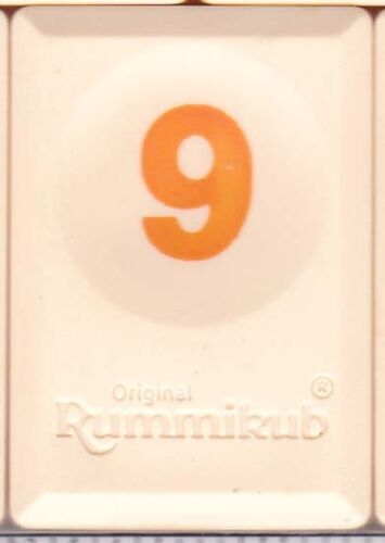 Original Rummikub Rummy-O World Tiles You Pick /'Em