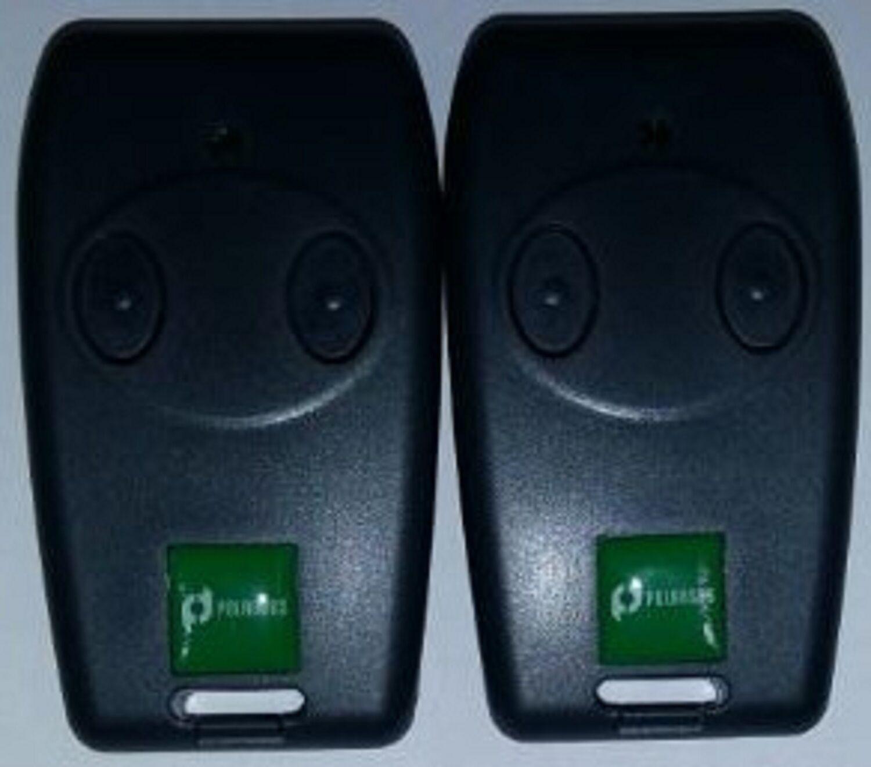 2 Fernbedienungen Polargos Somfy SGS 201, 202 Freevia, Handsender, Torantrieb