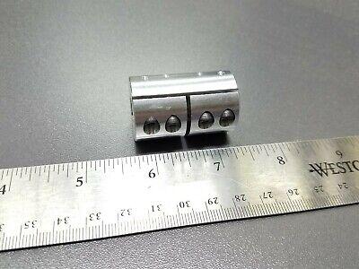 10 x 14mm Large Rigid Clamp Shaft Coupler Double Length CNC Mill Motor Lathe