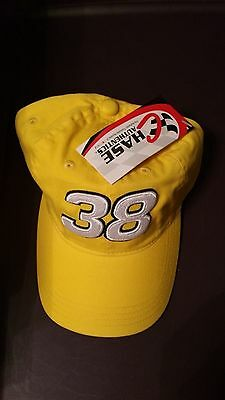 M/&M/'s Sadler 38 cap hat yellow m/&m Racing team NASCAR Brand New M/&Ms