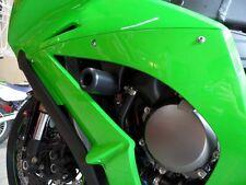 Shogun BLACK No Cut Frame Sliders for Kawasaki 2011-15 Ninja ZX-10R 750-4949