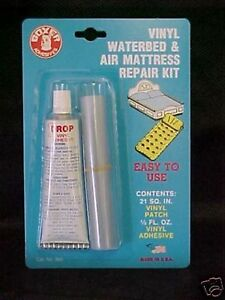 Vinyl Waterbed Air Mattress Repair Pool Patch Kit Ebay