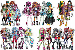 Image Is Loading MONSTER HIGH STICKER WALL DECO DRACULAURA FRANKIE STEIN