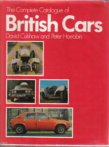 Complete-Catalogue-of-British-Cars-Culshaw-amp-Horrobin-1895-1974-over-1000-photos