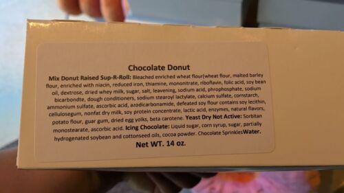 Universal Studios The Simpsons Lard Lad Donuts Giant Glazed Chocolate Donut New