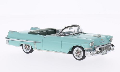 Cadillac Serie 62 Congreenible  Turquoise  1957 (Neo Scale 1 43   49515)