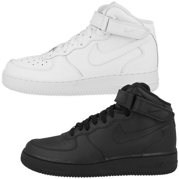 NIKE Air Force 1 MID GS SCARPE scarpe da ginnastica DUNK HIGH Jordan Blazer Retro