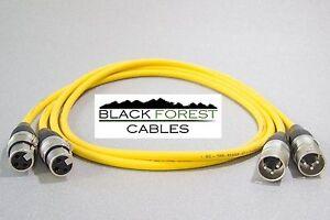 Tv- & Heim-audio-zubehör ZuverläSsig Sommer Cable Stage 22 Gelb High End Kabel Mit Hicon Xlr 2x5,0m Dauerhafte Modellierung Audiokabel & Adapter