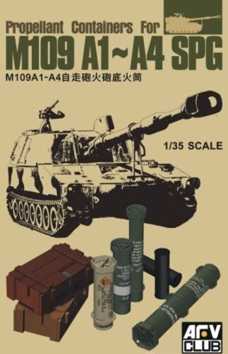 AFV35299 1//35 Propellant Containers for M109A1 A4 SPG