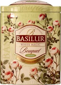 Basilur Flower White Magic Bouquet   Ceylon Milky Oolong Green Tea by Basilur