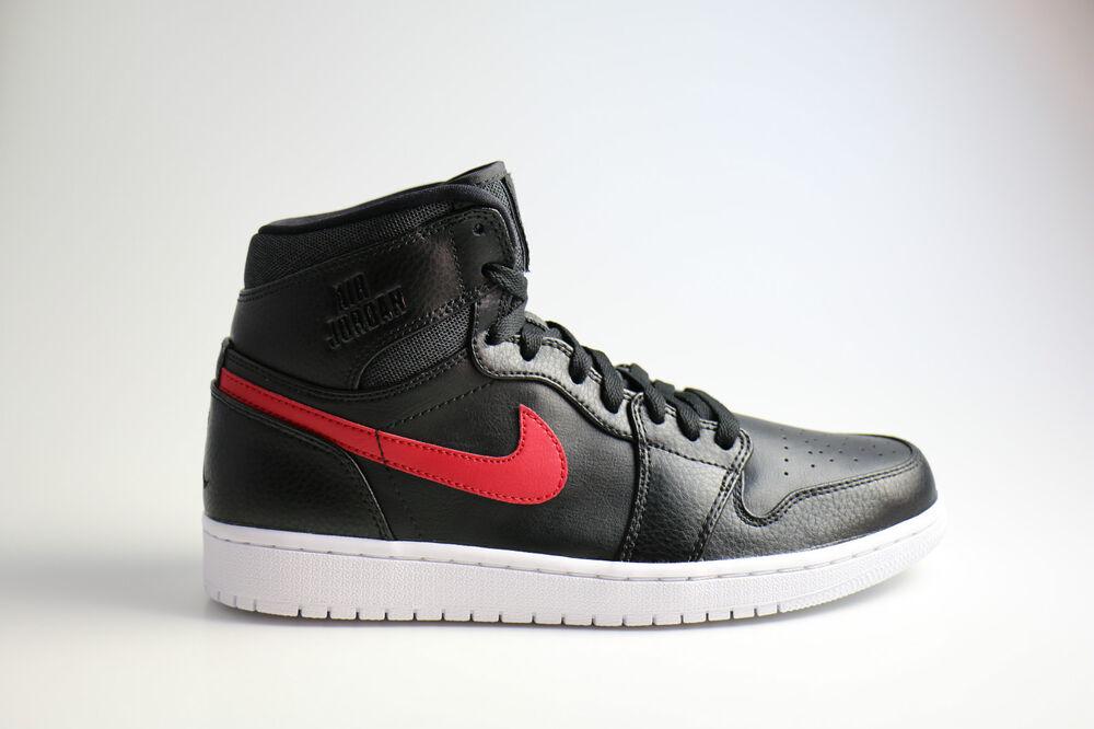 Nike Air Jordan Air 1 rare Air Jordan NoirrougeBred Chaussures de sport pour hommes et femmes ea5313
