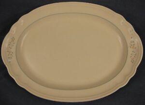 Pfaltzgraff-Remembrance-Oval-Serving-Platter-Large-14-034-Stoneware