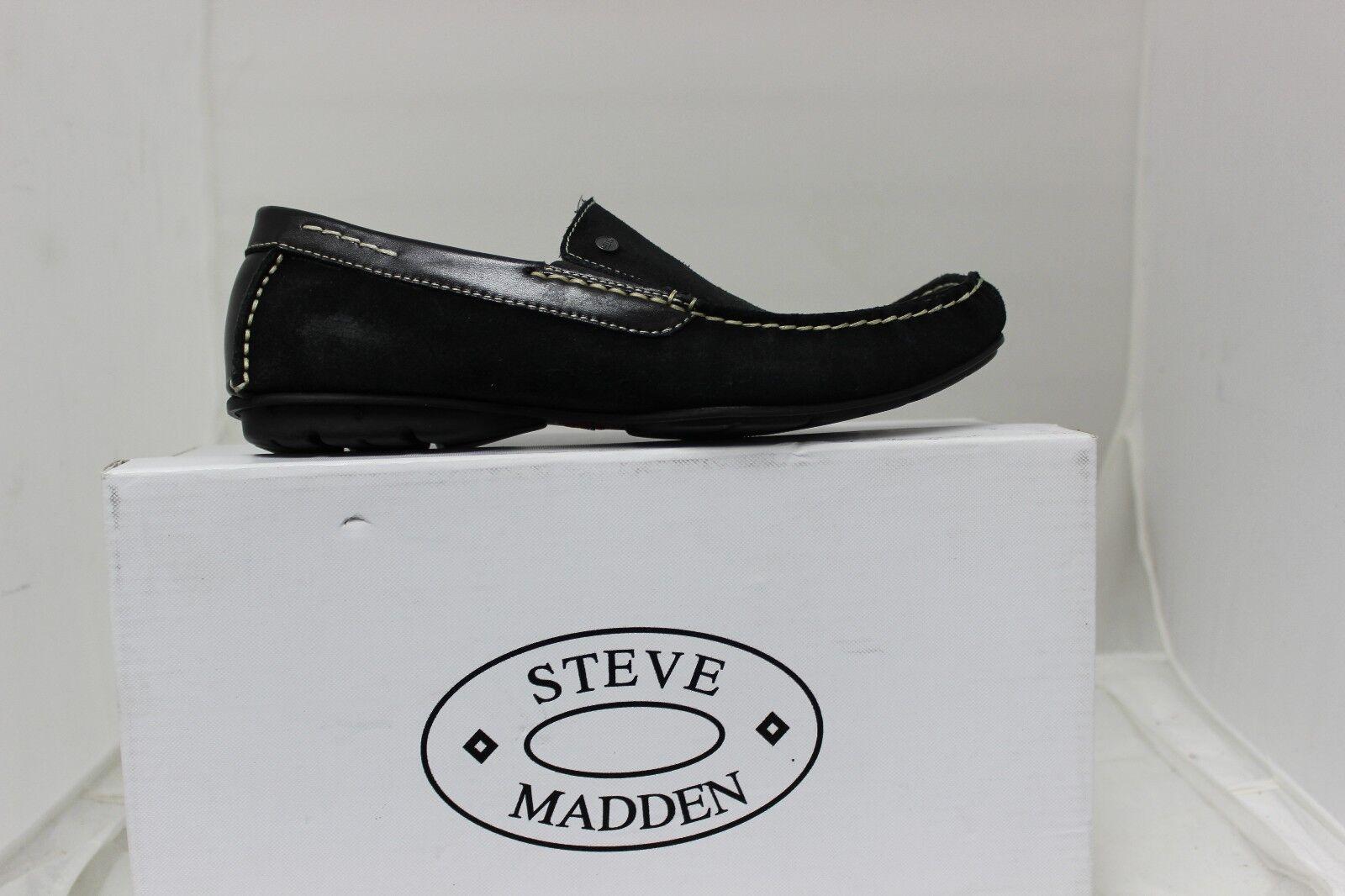 outlet in vendita Uomo Steve Steve Steve Madden P Rileey Nero pelle Nuovo  prezzi all'ingrosso