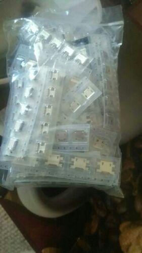 Famous 50 Models Micro USB Connector Jack Charging Socket Female V8 Port 4 Phone