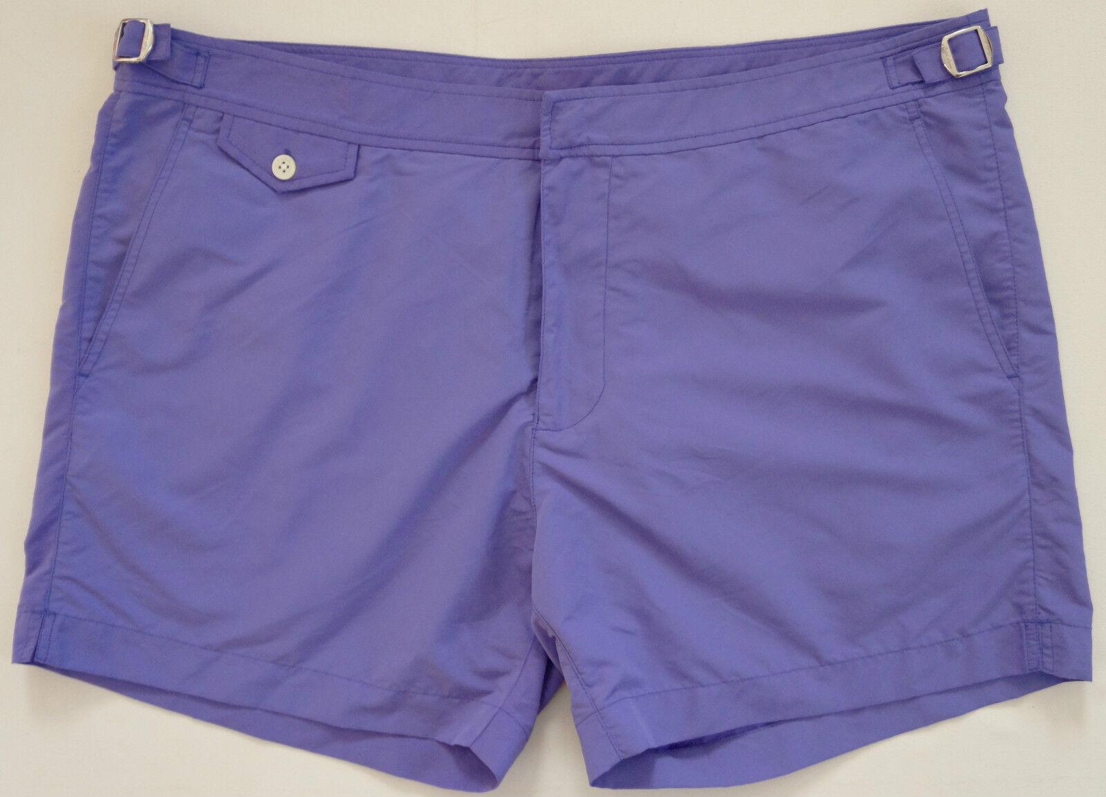 Authentic RALPH LAUREN PURPLE Label Swim Trunks Bathing Suit 38