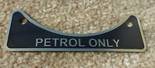 Land Rover Series 2 2a 3 2.25 2.6 V8 Petrol Fuel Filler Metal Label Badge 502951
