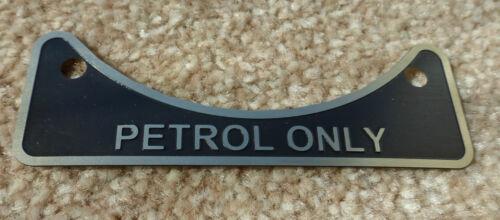 Land Rover Series 2 2a 3 2.25 2.6 V8 Petrol Fuel Filler Metal Label Badge 502951