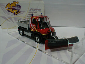 Busch-50914-Mercedes-Unimog-u430-bomberos-m-pala-para-nieve-1-87-novedad