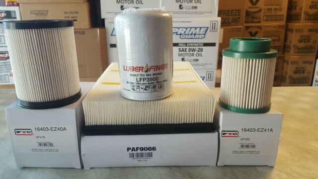 Fuel Filter  GF419 For TITAN XD 5.0L DIESEL REPLACES 16403-EZ40A