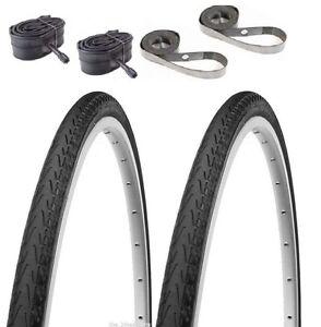 """2PAK Panaracer Pasela 27"""" 1-1/8"""" OR 1-1/4"""" Tubes & Strips Bicycle Kit Road Bike"""