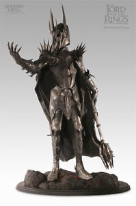LOTR-Sideshow-Weta-SAURON-statue-24-034-tall-Customized-RARE