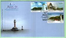 Malaysia 2013 Lighthouses in Malaysia II ~ FDC