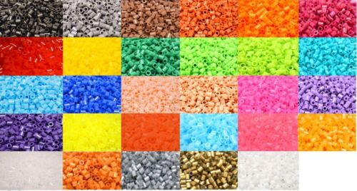 5mm Colour Fuse Beads 500 beads per pack Color bead High Quality