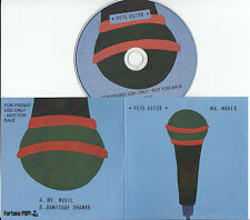 PETE ASTOR Mr Music 2015 UK 2-trk promo test CD