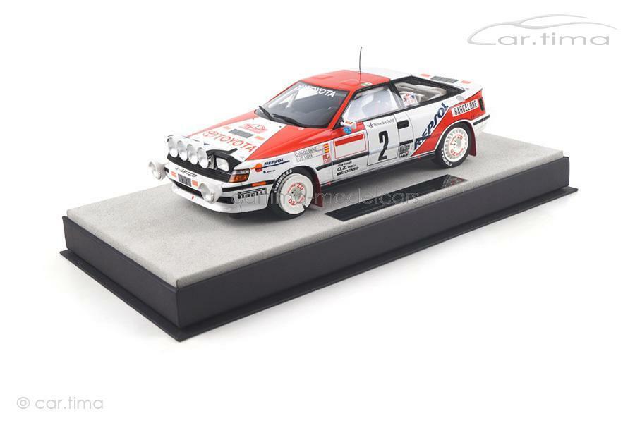 Toyota Celica St 165-Winner Rally de Monte-Carlo 1991-sainz moya-Top marqu