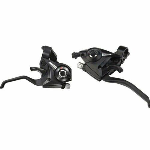 SHIMANO ST-EF51 3x7//8S Shifter MTB Bike Bicycle Shift//Brake Lever Set Black USA