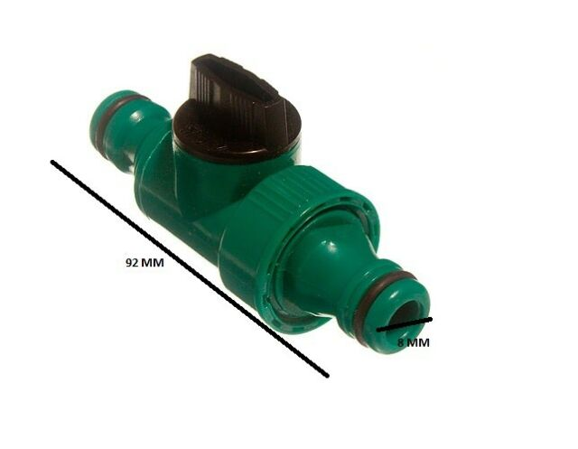 Quick fix snap fit line tap garden hose connector pack of 48