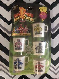 mighty morphin power rangers magic juice bar cups