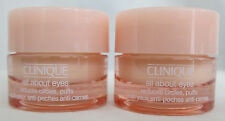 2 CLINIQUE ALL ABOUT EYES REDUCES CIRCLES PUFFS 0.21 OZ / 7ML
