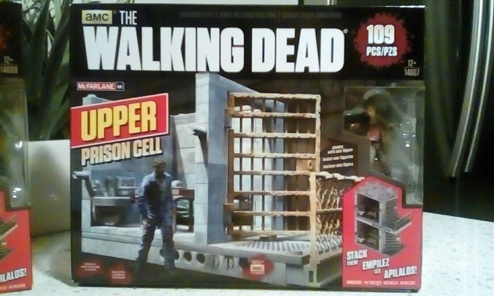 AMC McFarlane The Walking Dead Building Sets Upper Cell Lot of 2 Sets