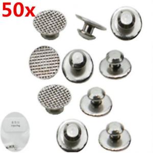 50X-Dental-Orthodontic-Lingual-Button-Set-for-Bondable-Round-Mesh-Base-Monoblock