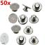 50X-Dental-Orthodontic-Lingual-Button-Set-for-Bondable-Round-Mesh-Base-Monoblock miniatura 1