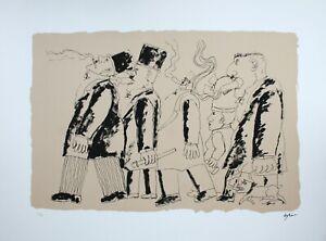 Franz Borghese' Passion For The Cigar 'Serigraph Original 60X80