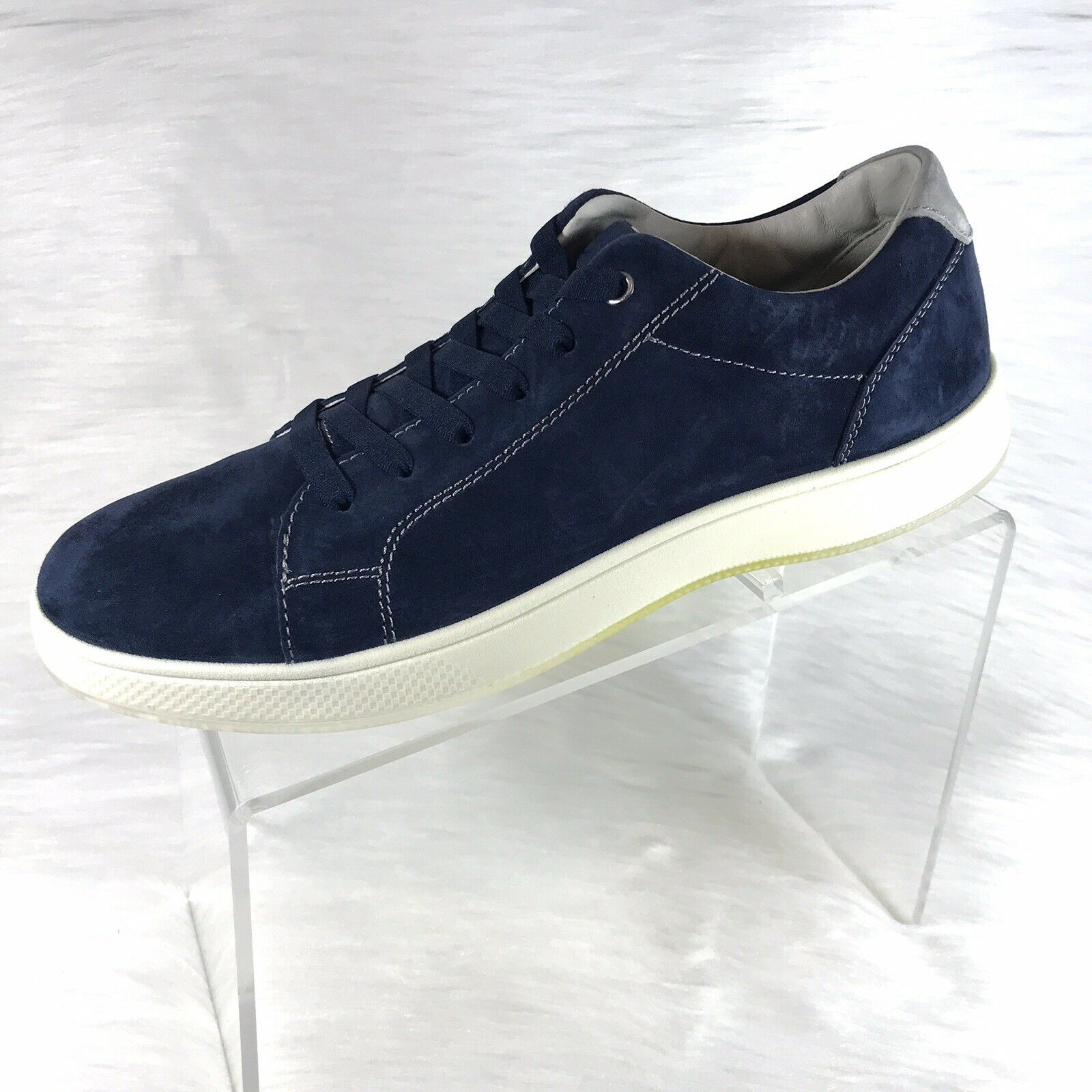 Florsheim Men's Edge Lit Sneakers Navy Lace Up Size 9 M New