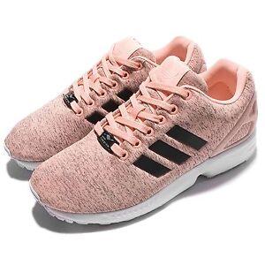 adidas zx flux w negro y rosa