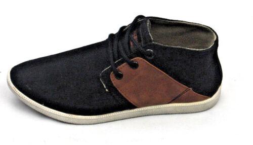 Genuine Creeks Boys Black Brown Chukka Boots Shoes Fashion Trainers Sizes 3.5-7